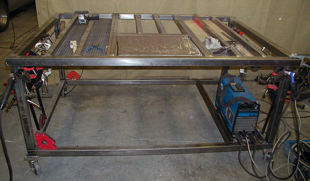 Bench plan welding bench plans for Plan fabrication table