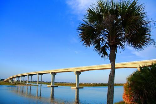 new bridge sunset beach coast north swing shore carolina waterway intracoastal