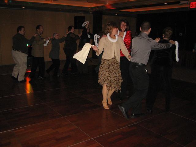 how to dance the conga