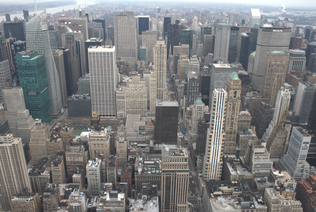 Views from the Empire State Building by flickr user mattlucht