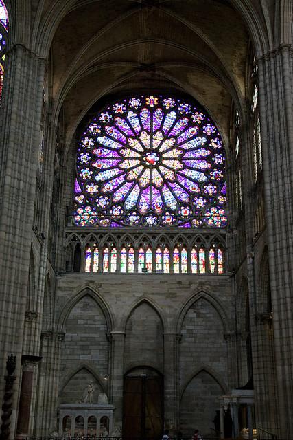 Paris, Saint-Denis North Rose Window