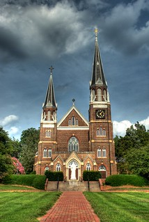 The Monastery at Belmont Abbey College in HDR