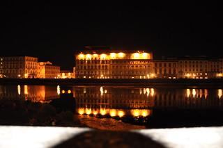 Firenze - Lungarno di notte