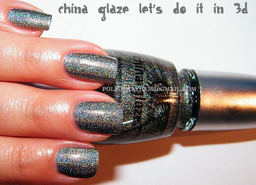 China Glaze Let's Do It In 3D