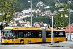 Bergen, trolleybus