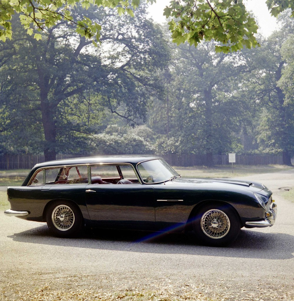 aston martin db5 radford shooting brake estate august 1972… | flickr
