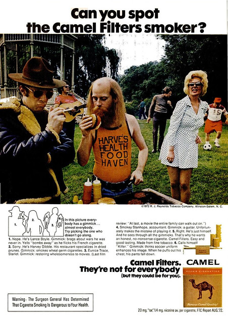Camel Ad (Popular Science - January 1973)