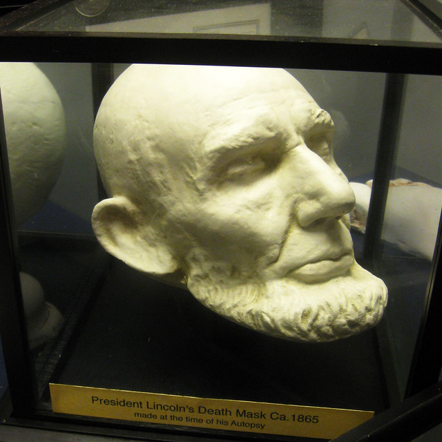 Lincoln Death Mask   Flickr - Photo Sharing!