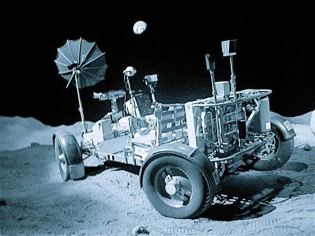 view inside nasa lunar rover - photo #48