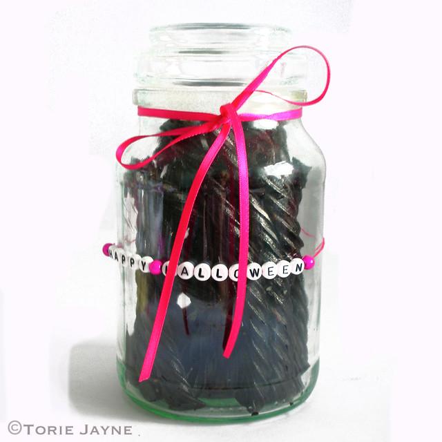 Licorice Twists Candy Jar