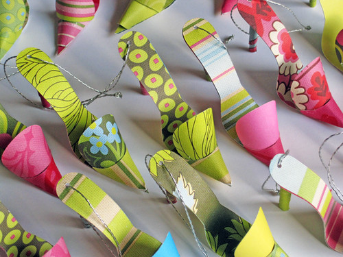 Paper Craft - Shoe Tags for Purses