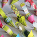 Paper Craft - Shoe Tags for Purses by Carlos N. Molina - Paper Art