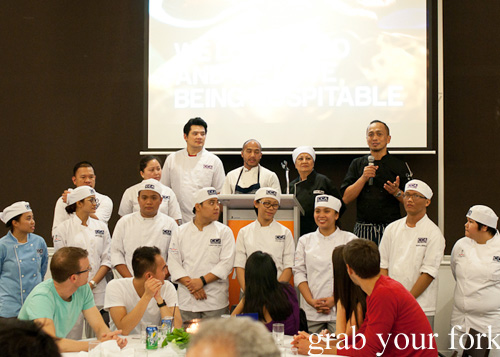 Chefs at the Filipino Barbie