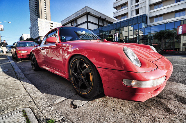 993 PORSCHE by HELLLA KENNY