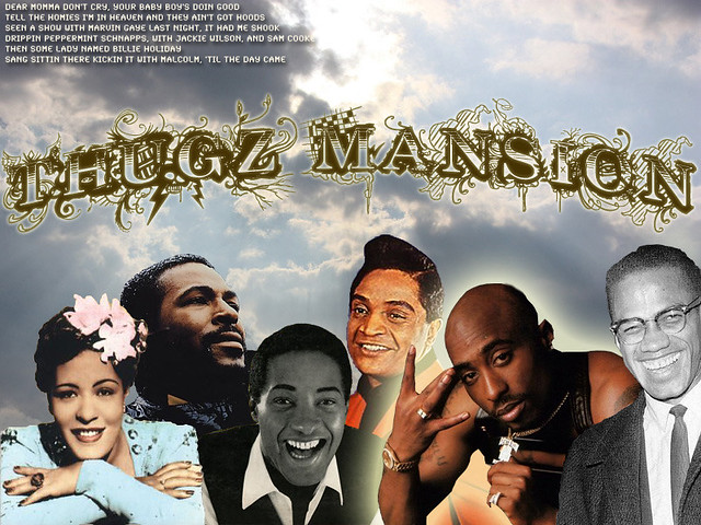 Thugz Mansion | my first assignment for digital art class ...