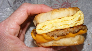sausage, egg, and cheese biscuit | by Newbirth35