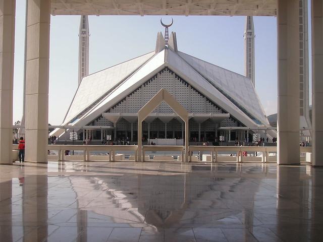 Faisal Mosque Islamabad   Inside view of Faisal Mosque ...