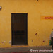 DHL's Yellow Walls - Antigua, Guatemala
