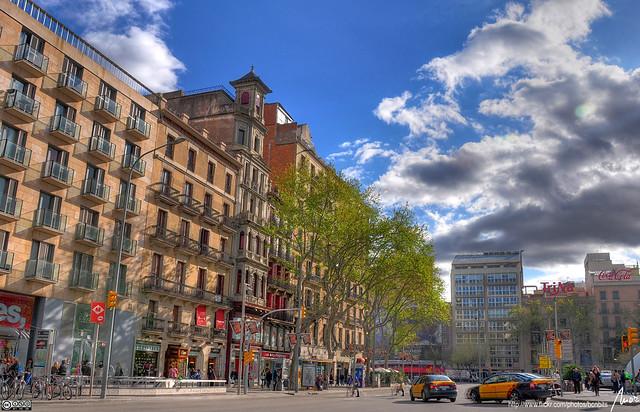 Flickriver morbcn 39 s most interesting photos - Placa universitat barcelona ...