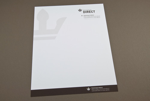 what is professional letterhead