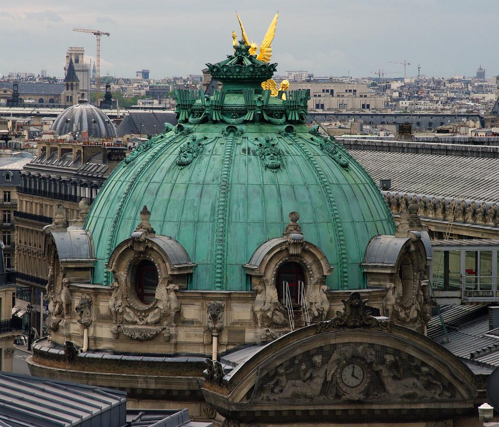 Opera roof detail