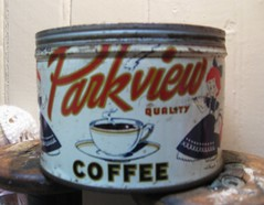 Parkview Coffee Tin
