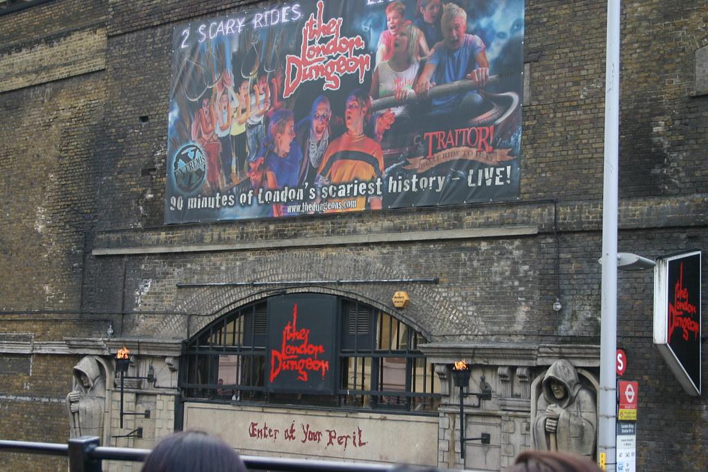 London Tour - Dungeon