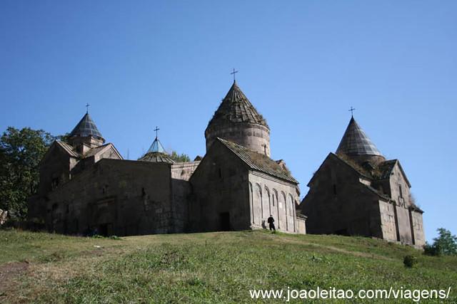 Fotografias Mosteiro Goshavank Nor-Getik de Mkhitar Gosh, Arménia