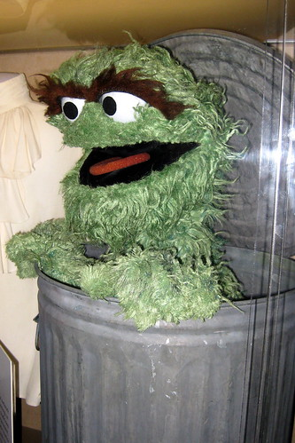 Washington DC: National Museum of American History - Oscar the Grouch