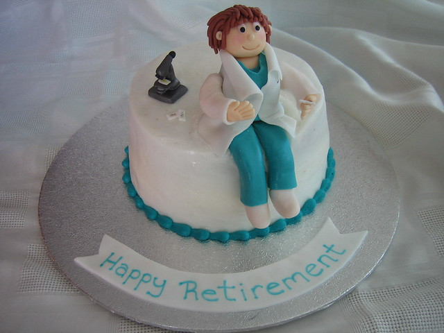 Lab Tech Retirement Cake Flickr Photo Sharing