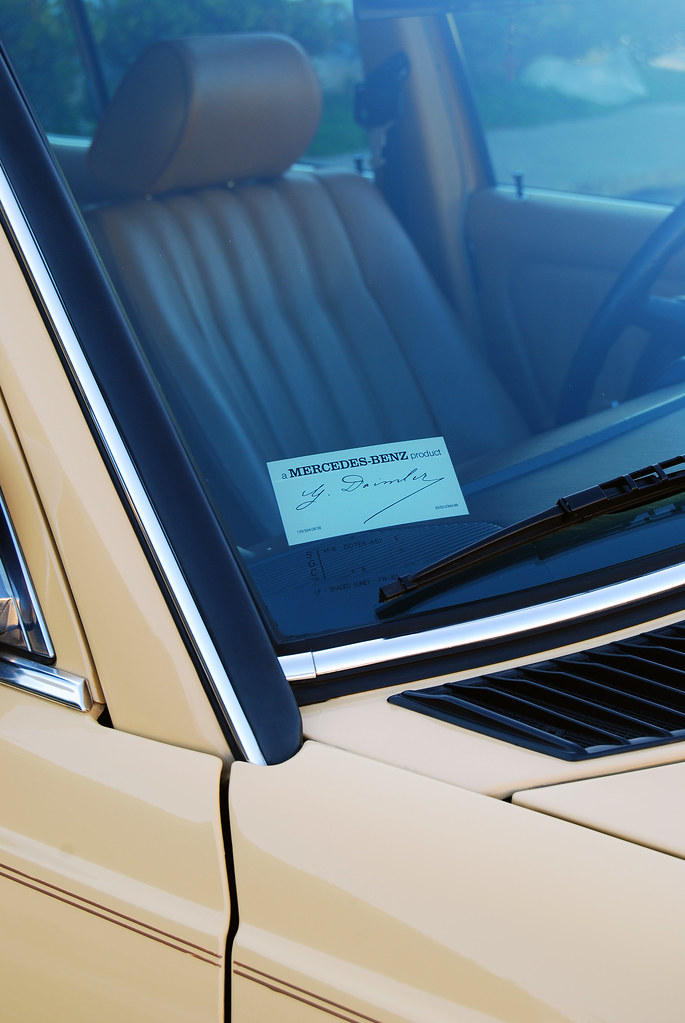 Mercedes benz forum official mb product windshield sticker for Mercedes benz window sticker