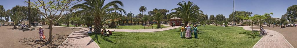 Día de Canarias en el Parque de la Condesa, Jinámar. Telde.