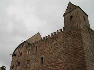 Der Meister lehrt   den Raben von Burg Abenberg die Werke dunkler Kunst 126