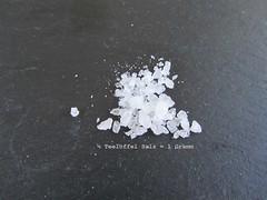1 Viertel Teelöffel Salz