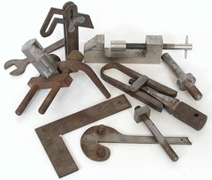 A few samples of work I did in Metalwork at school...1957-61