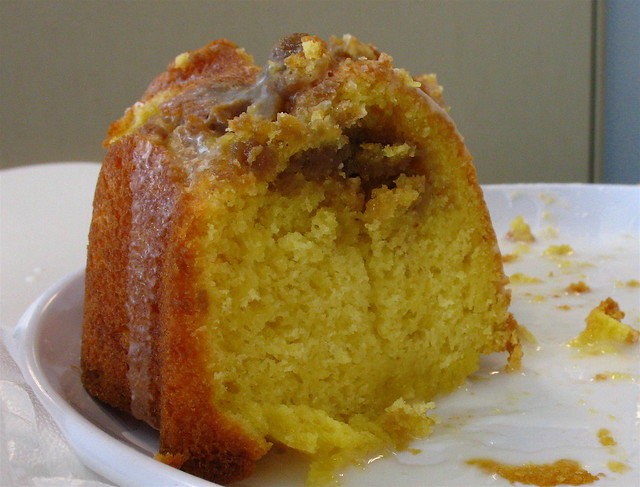 Cream Cheese Streusel Cake Recipe