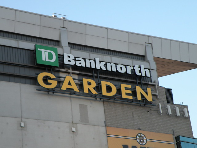 Boston Celtics Td Banknorth Garden Flickr Photo Sharing