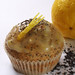 lemon-poppy seed muffins with lemon zest glaze