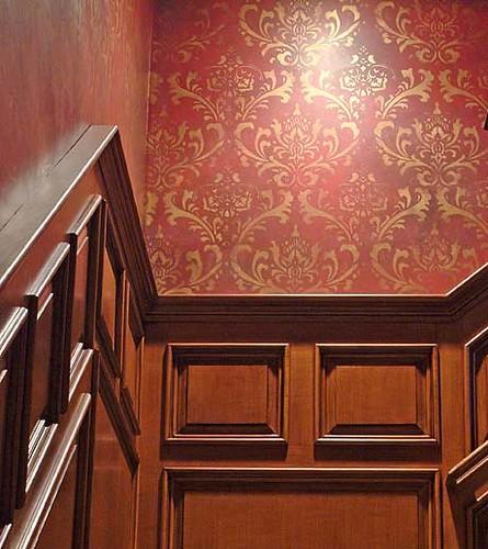 stencil for wall decor allover stencils by cutting edge stencils