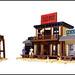 Western Buildings by Legohaulic