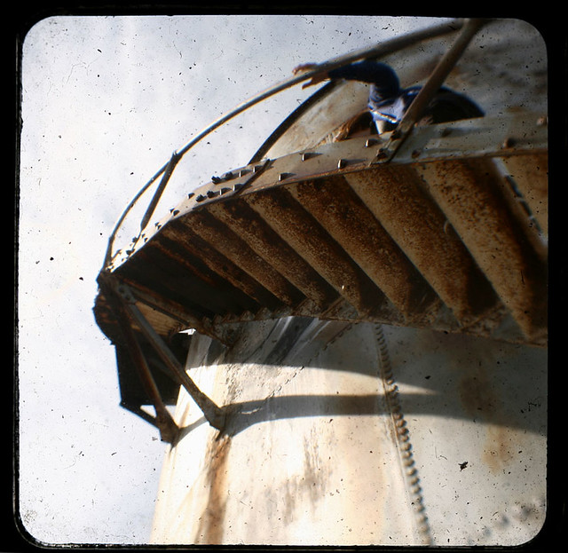 Water Tank Stairs : Water tank stairs explore mr rollers photos on flickr
