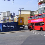 New flats, no 8 bus, Mojo Bellway development, Tredegar Road Bow E3