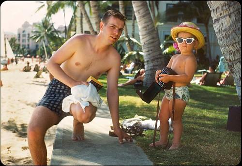 Waikiki Beach 1950