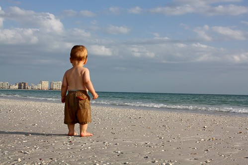 Luke Discovers the Beach