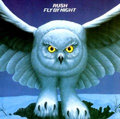 Rush Fly By Night (1975) album cover