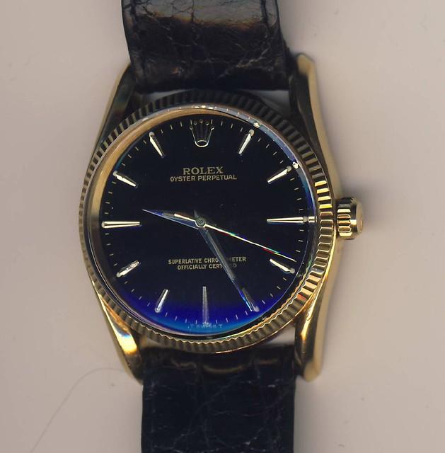 Rolex Bombay black