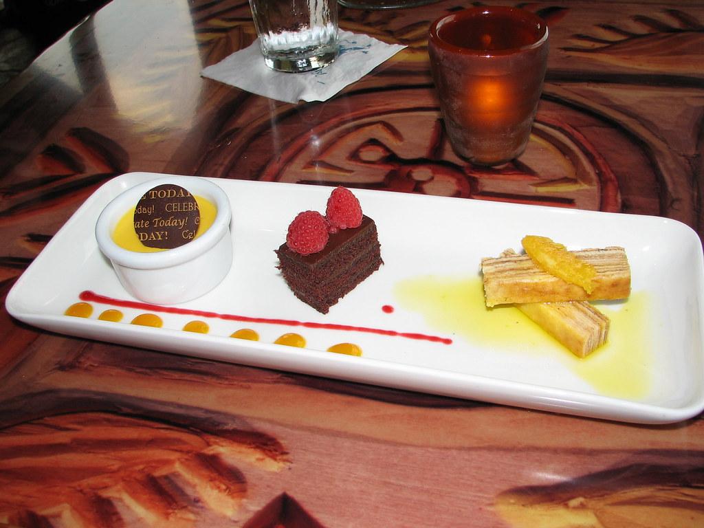 Sanaa desert platter