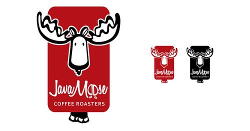 Java Moose Final Logo Design | OrangeSprocket