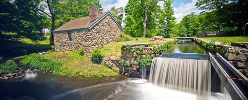 longexposure panorama water reflections river canal newjersey dam nj historic nd farrier morriscanal musconetcong waterloovillage guardlock nikon24mmf35tiltshiftpce mlacksmith