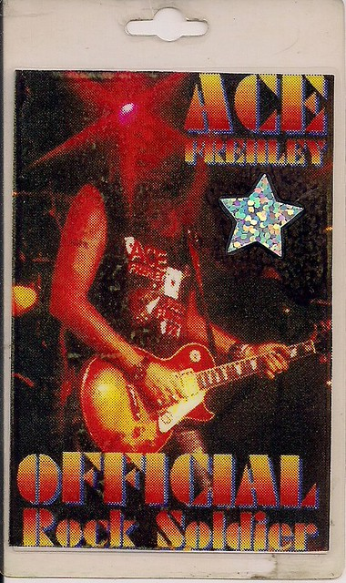 Ace Frehley - Rock Soldiers Laminate (Front)